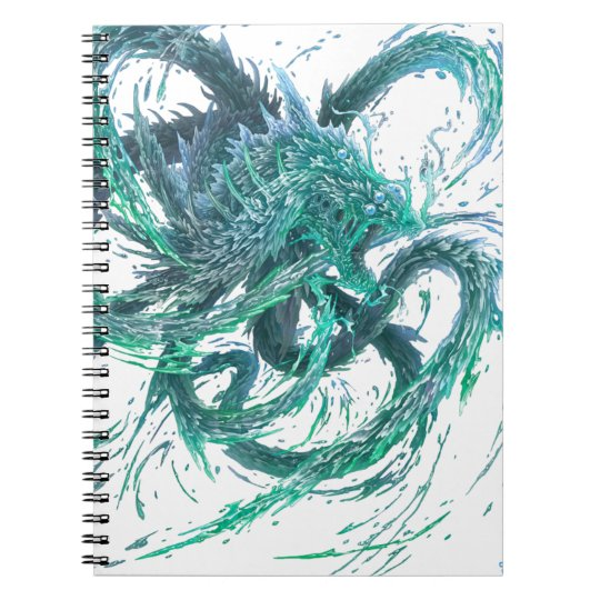Carnet Dragon d'eau