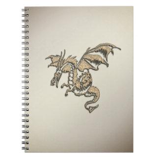 Carnet Dragon d'or