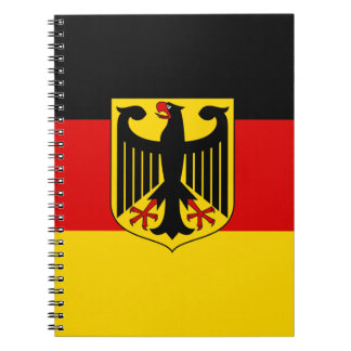Carnet Drapeau allemand