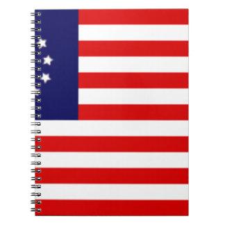 Carnet Drapeau américain de 13 colonies
