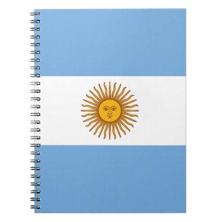 Carnet Drapeau argentin patriotique