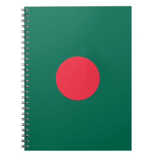 Carnet Drapeau bangladais patriotique