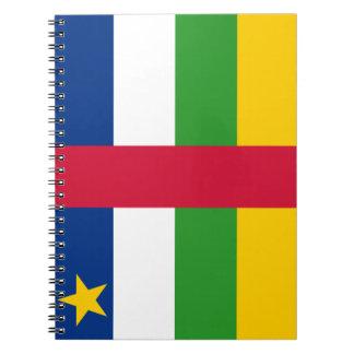 Carnet Drapeau de la République centrafricaine