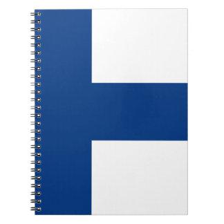 Carnet Drapeau de lippu de la Finlande - du Suomen -