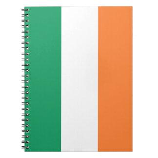 Carnet Drapeau de l'Irlande
