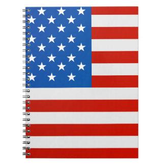 Carnet Drapeau national des Etats-Unis