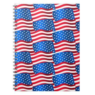 Carnet Drapeaux des Etats-Unis