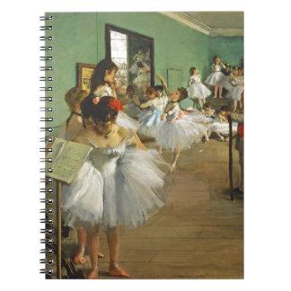 Carnet Edgar Degas la classe de danse