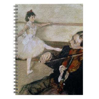 Carnet Edgar Degas   la leçon de danse, c.1879