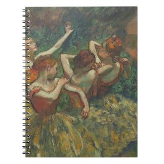 Carnet Edgar Degas | quatre saisons dans l'une tête,