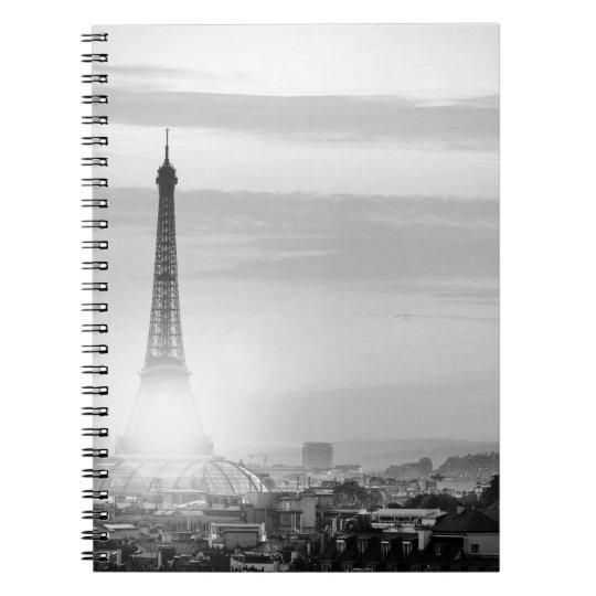 Carnet eiffel tower, paris, France