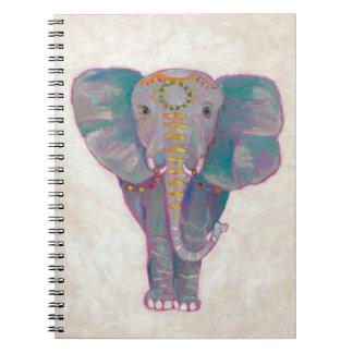 Carnet Éléphant asiatique de zen
