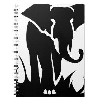 Carnet Éléphant majestueux