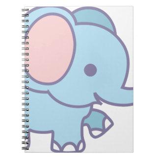 Carnet Éléphant mignon