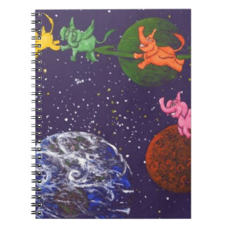 Carnet Éléphants de l'espace