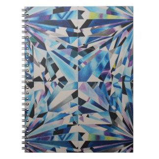 Carnet en verre de photo de diamant (80 pages B&W)