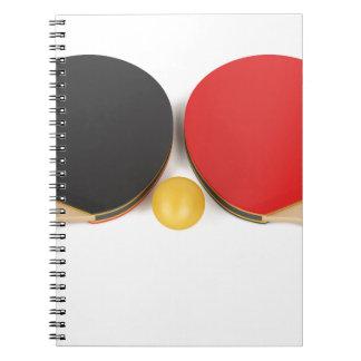 Carnet Équipement de ping-pong