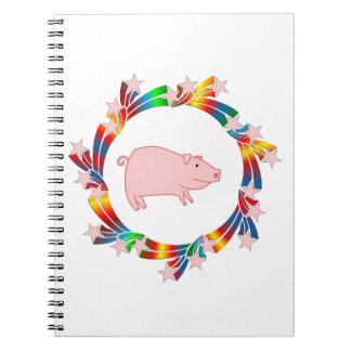 Carnet Étoiles de porc