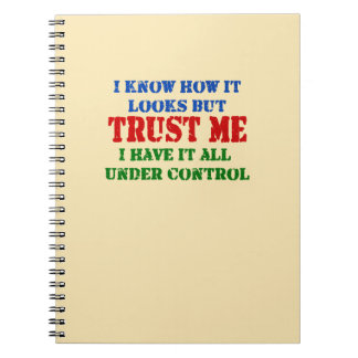 Carnet Faites- confiancemoi -- Tous sous le contrôle