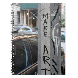 Carnet FAITES la photographie NYC de rue de graffiti de
