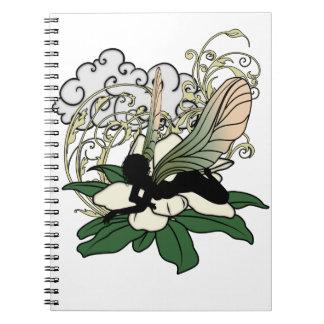 Carnet Fée d'ombre de magnolia