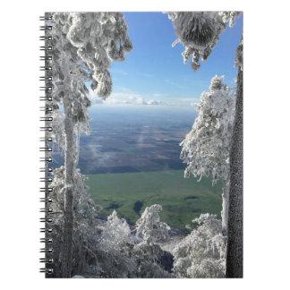 Carnet Fenêtre d'hiver de Noël