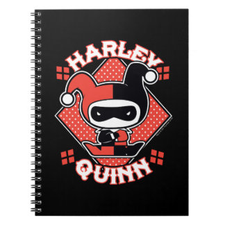 Carnet Fentes de Chibi Harley Quinn