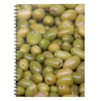 Carnet Fermez-vous des olives vertes