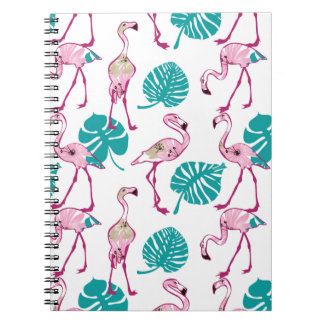 Carnet Flamants roses