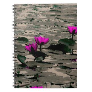 Carnet Fleur de Lotus