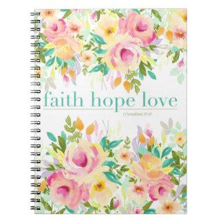 Carnet floral de l'amour | d'espoir de foi (80