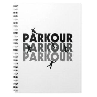 Carnet Fonctionnement libre de Parkour