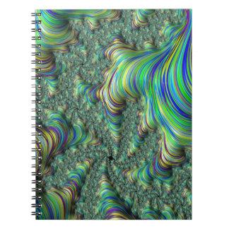 Carnet Fractale colorée