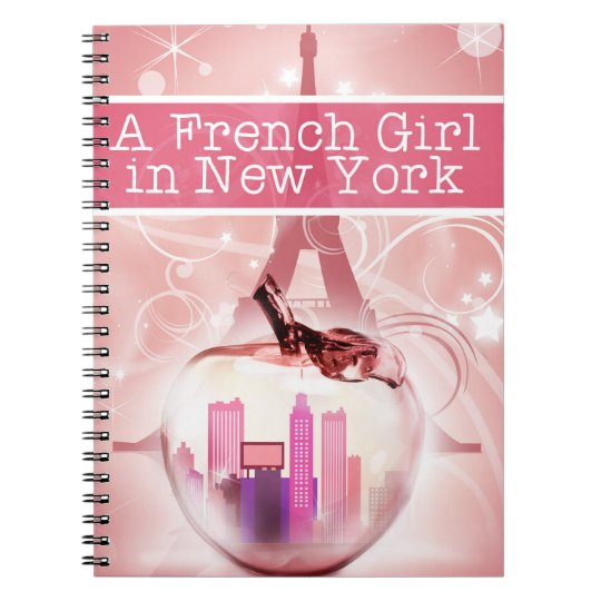 Carnet French Girl Notebook