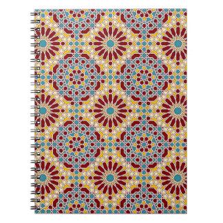 Carnet géométrique islamique de motif