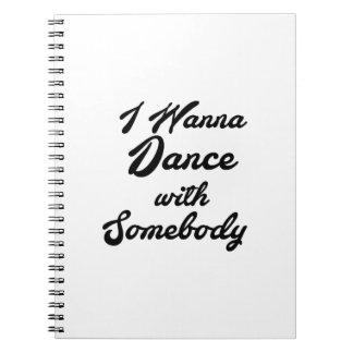 Carnet GIF de danse que je veux danser avec quelqu'un