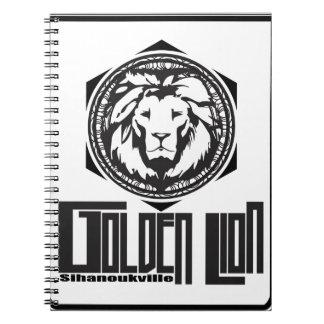 Carnet golden lion