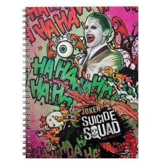 Carnet Graffiti de caractère de joker du peloton | de