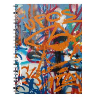 Carnet Graffiti grunge Wal d'art de rue de graffiti