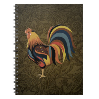 Carnet Grand coq sur l'art de ranch de Deco de ferme de