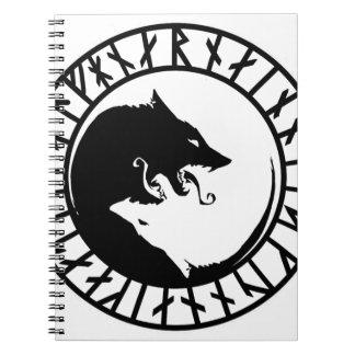 Carnet Grandes runes runiques de nordic des norses de