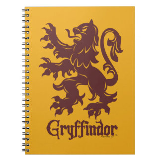 Carnet Graphique de lion de Harry Potter | Gryffindor