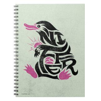 Carnet Graphique de typographie de Niffler