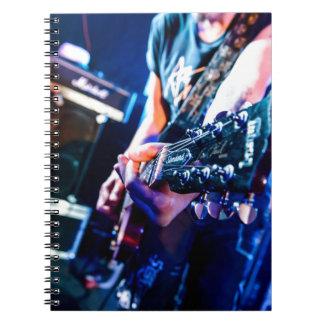 Carnet Guitare de rock