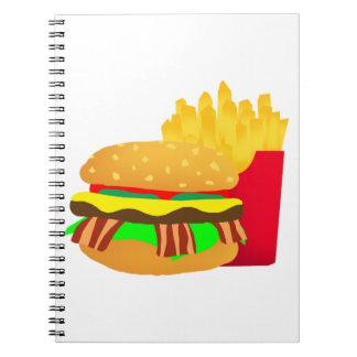 Carnet Hamburger et fritures
