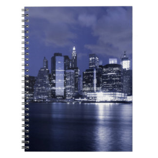 Carnet Horizon de New York la nuit