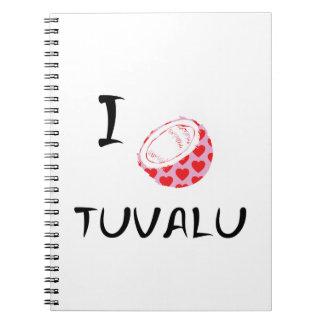 Carnet I coeur Tuvalu