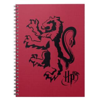 Carnet Icône de lion de Harry Potter | Gryffindor