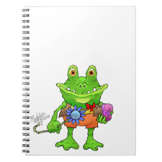 Carnet Illustration d'une grenouille