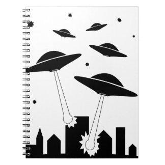 Carnet Invasion d'UFO